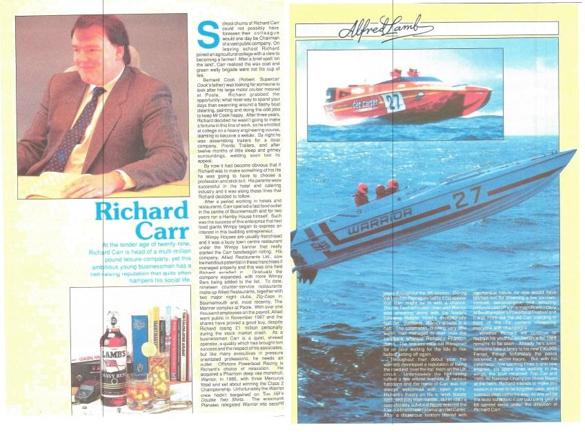 Richard Carr Alfred Lambs